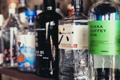 Our Japanese gin selection