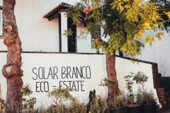 The Solar Branco Eco Estate at dawn