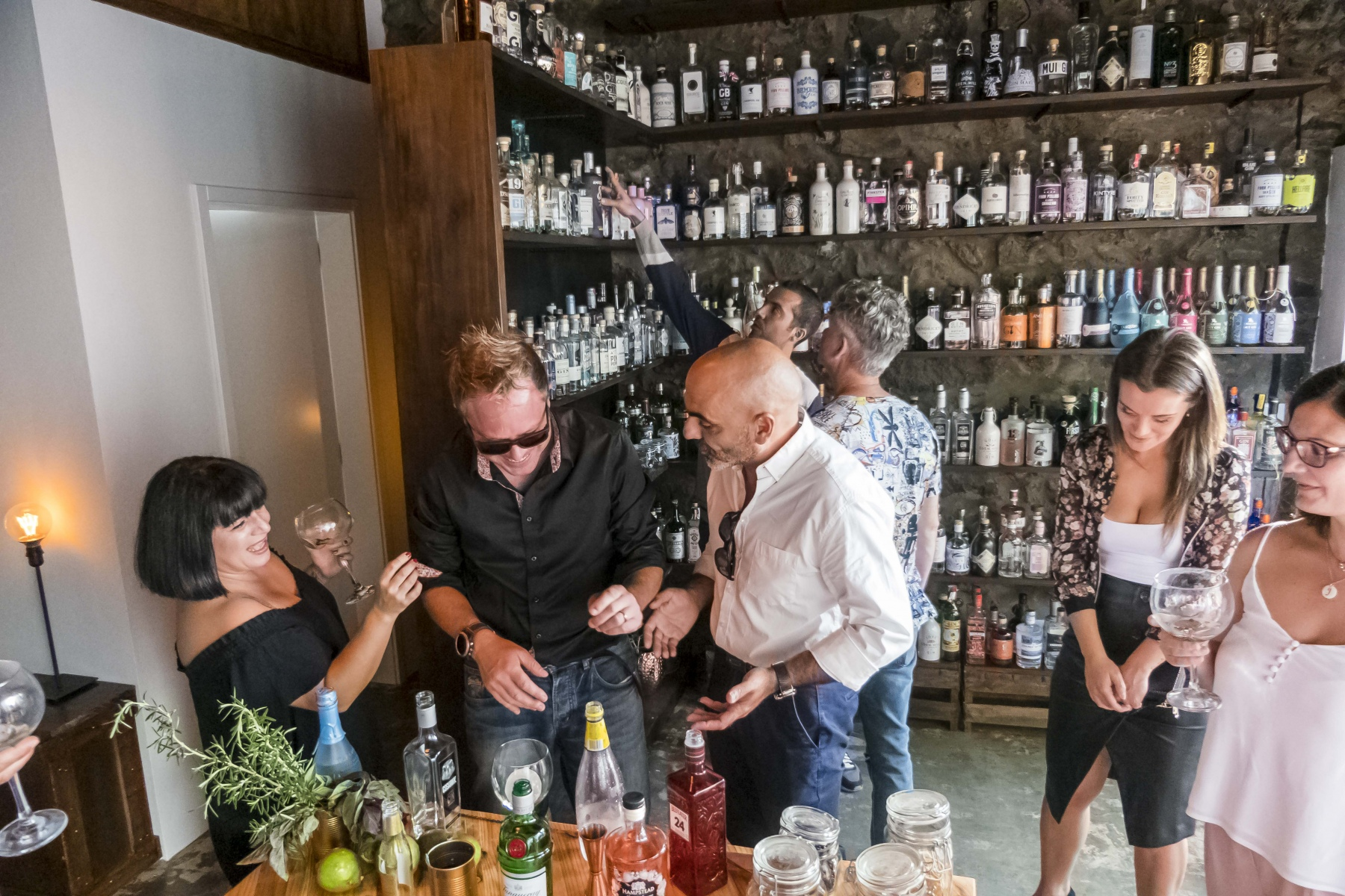 The gin Library opening