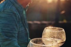 Sundown drinks on the Solar Branco Eco Estate