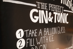 The perfect gin and tonic at The Gin Library