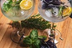 Basil gin