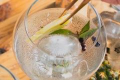 Pineapple gin