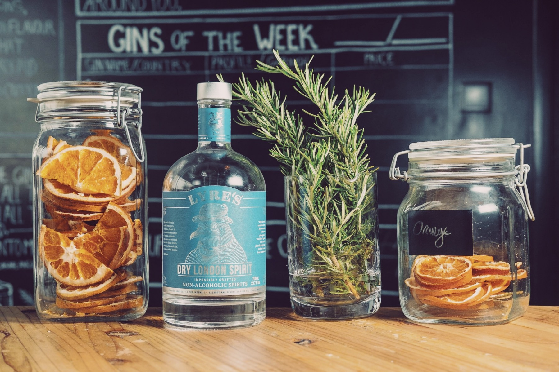 New alcoholic gins at The Gin Library