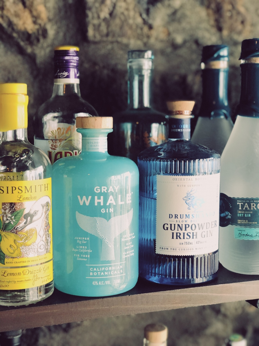 Grey Whale Gin at The Gin Library
