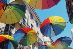 Umbrellas in Lisbon