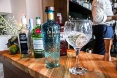 A gin tasting