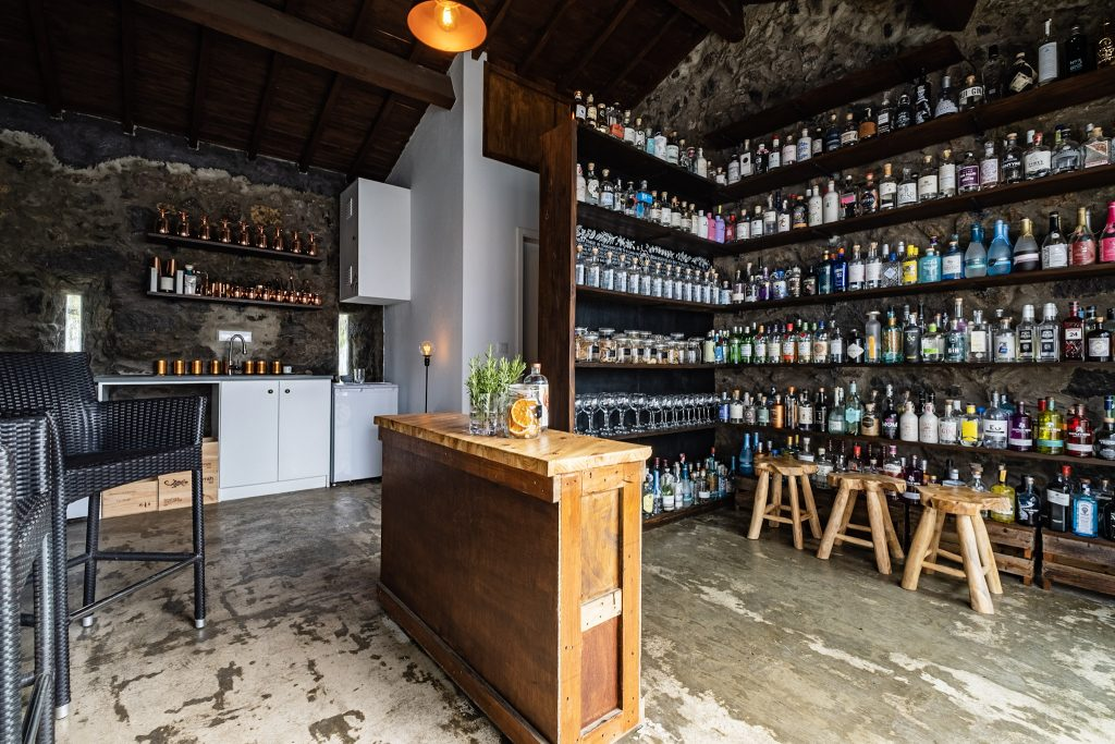 the gin library sao miguel